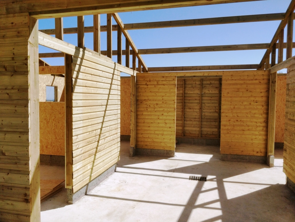 American barns - interior view
