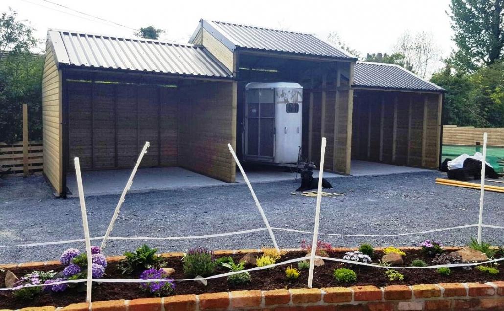 Triple hay barn ireland